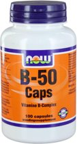 Now B-50 Complex - 100 Capsules - Vitaminen