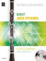Easy Jazz Studies for Clarinet