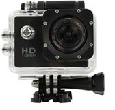Action Sports Cam 1080p zwart