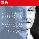 Janacek: Streichquartette Nos. 1 & 2; Wolf: Italienische Serenade