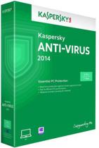 Kaspersky, Anti Virus 2014 RB (3 PC) (Dutch / French)