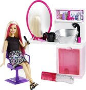 Barbie Sprankelende Stijl Salon - Barbiepop