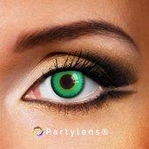 Partylenzen - Magic Green - jaarlenzen inclusief lenzendoosje - kleurlenzen Partylens®