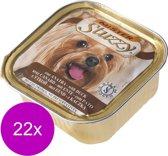Mister Stuzzy Dog Paté 150 g - Hondenvoer - 22 x Eend
