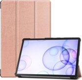 Samsung Galaxy Tab S6 Hoesje - Smart Book Case - Rose Gold
