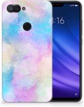 Xiaomi Mi 8 Lite Uniek TPU Hoesje Watercolor Light
