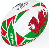 Gilbert Ball Rwc2019 Flag Wales Sz 5