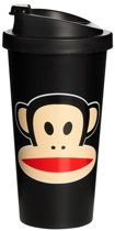 Paul Frank Drinkbeker - To Go - Incl Deksel - 500 ml - Zwart