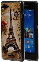 Mobieletelefoonhoesje.nl - Samsung Galaxy S6 G920F Eiffeltoren TPU Hoesje Backcover