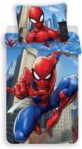 Spiderman dekbedovertrek 140x200cm - 100% katoen