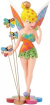 Disney beeldje - Britto collectie - Tinker Bell On Flower
