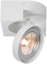 Lucide VERSUM AR111 - Plafondspot - LED Dimb. - AR111 - 1x10W 2700K - Wit