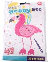 Tender Toys Hobby Naaiset Flamingo Roze