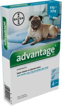 Advantage 100 Anti vlooienmiddel Hond - 4 pipetten