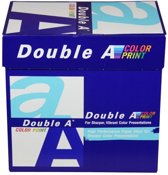 Double A Color print A4 Papier 5 pakken (90 grams) wit (Origineel)