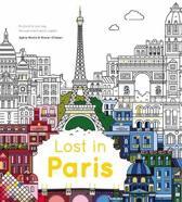 Lost In Paris Colouring Journey Through