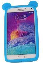 Blauw Bumper Beer Small Frame Case Hoesje voor Samsung Galaxy S4 Mini