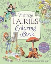Vintage Fairies Coloring Book