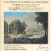 Concertos For Clarinet And Orchestra