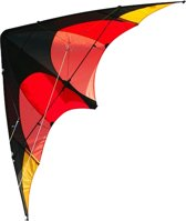 Elliot Delta Sport - Sportvlieger - Beginners - 160cm - Rood/Oranje