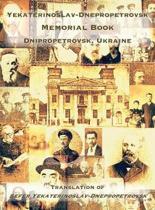 Yekaterinoslav-Dnepropetrovsk Memorial Book (Dnipropetrovsk, Ukraine)