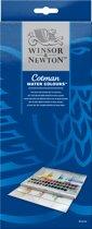 Winsor & Newton Cotman Aquarelverf Studio Set 45 halve napjes