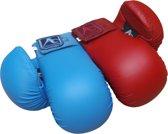 Karate-handschoenen (mitts) Arawaza   rood   maat L