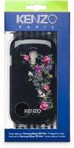 Kenzo - Zwart fleurig bloemetjes hardcase hoesje - Samsung Galaxy S3 Mini i8190