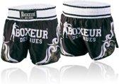 Kick/Thai Shorts - Tribal Symbols Shorts