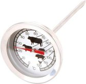Vleesthermometer - Oven - Barbecue - RVS - Tot 120ºC