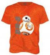 Merchandising STAR WARS - T-Shirt Tie Dye BB-8 - Orange (XXL)