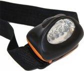 X2 - Headlight - 5 LED - Hoofdlamp - Kunststof - Batterij - Zwart / Oranje