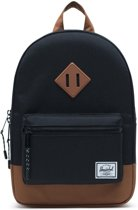 Herschel Supply Co. Heritage Kids Rugzak - Black / Saddle Brown