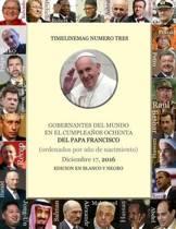 Gobernantes del Mundo El D a del Cumplea os 80 del Papa Francisco