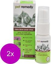 Pet Remedy Spray - Anti stressmiddel - 2 x 15 ml