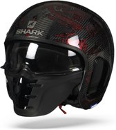 SHARK S-DRAK FREESTYLE CUP CARBON ROOD ROOD DRR M