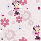 Behang - Disney - Minnie Spring walk Behang 50cm breed x 10m lang