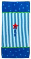 Lief! Boy strandlaken - 70x140 cm - Blauw