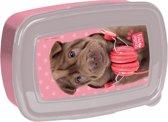 Studio Pets Shar-Pei - Lunchbox - 18,5 x 13 cm - Roze