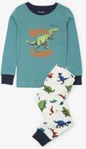 Hatley jongens 2-delige pyjama Dino Herd