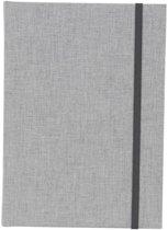 GOLDBUCH GOL-64919 Linum A5 gastenboek 15x21 cm notitieboek grijs als receptieboek