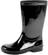 Gevavi Boots Iris Zwart Regenlaarzen PVC Dames 37