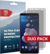 Rosso HTC U12 Plus Ultra Clear Screen Protector Duo Pack