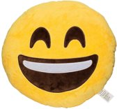 Emoji Emoticon Smiley Kussen-Glimlach