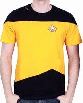 Merchandising STAR TREK - T-Shirt NEXT GENERATION Yellow Uniform (M)