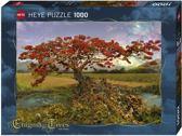 Heye Strontium tree puzzel 1000 stukjes serie Enigma Trees