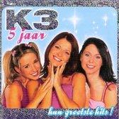 CD cover van 5 Jaar K3 - hun grootste hits! van K3