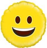 Folie-ballon 18 inch 45.7 cm Happy Emoji