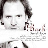 Bach Vioolconcerten BWV 1041, 1042, 1043
