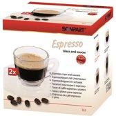 Espresso Kop en schotel
